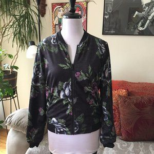 LULULEMON Garden Party Reversible Bomber Jacket